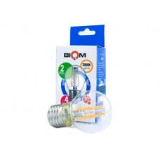 Лампочка филамент Biom G45 4W 3000K E27 Filament