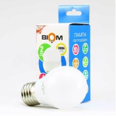 Лампочка Biom G45 4W 3000K E27