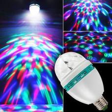 Светодиодная лампа Mini Pаrty Light Lаmp Alphatrade (вращающаяся)