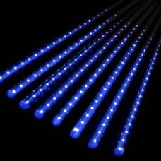 Гирлянда Тающие сосульки Alphatrade, 8 шт по 50 см, 3 м,  синий