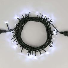 Гирлянда уличная Нить Alphatrade Optima, 30 м, 300LED, черный провод, холодный белый